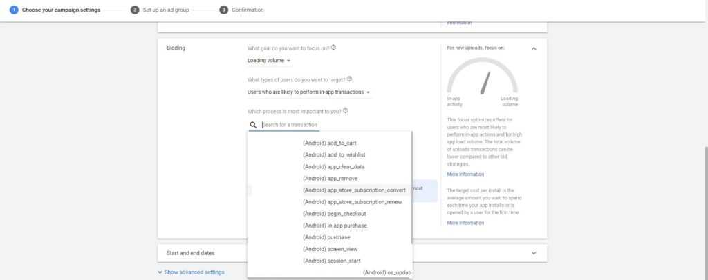 Google Adwords Firebase Optimization.