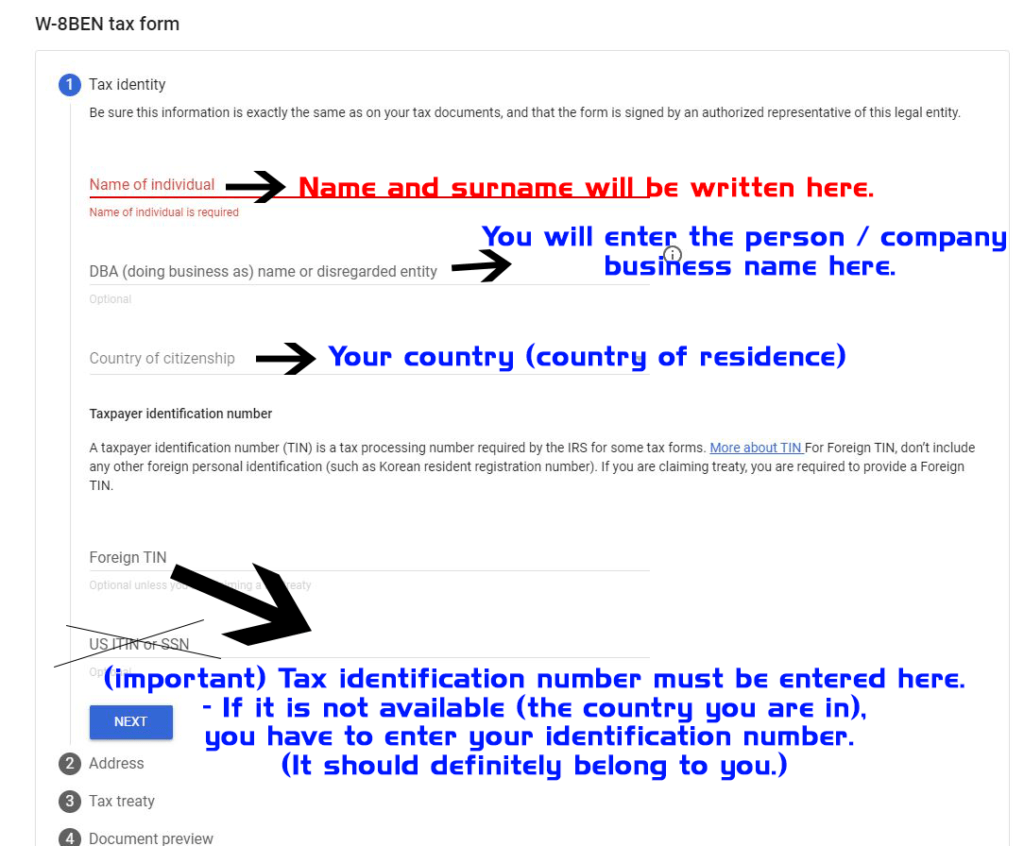 usa tax identity number
