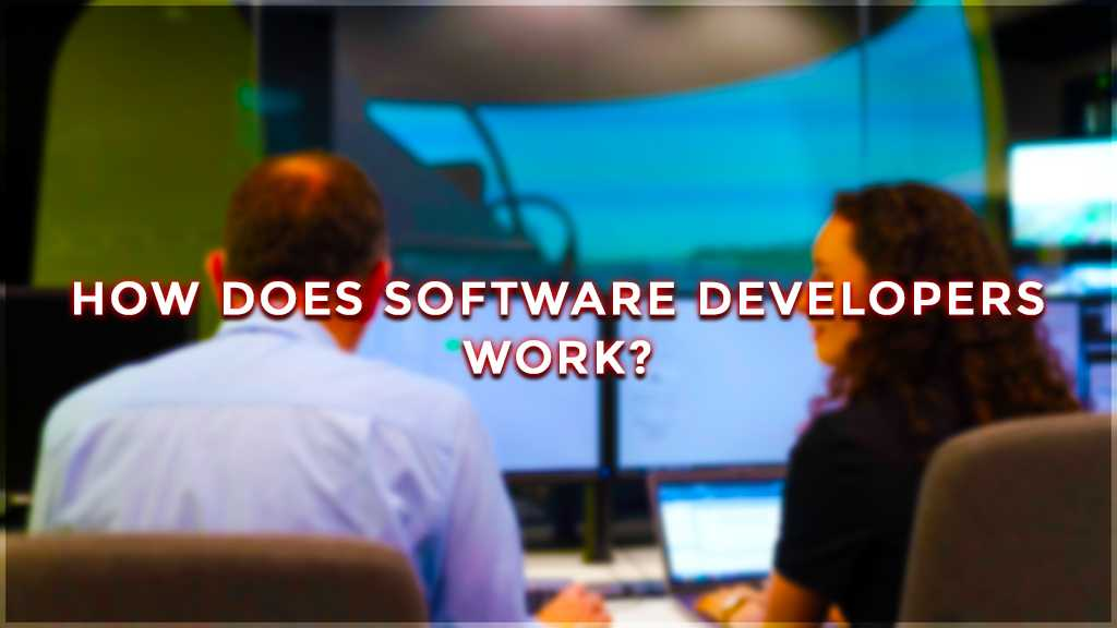 how does software developers work