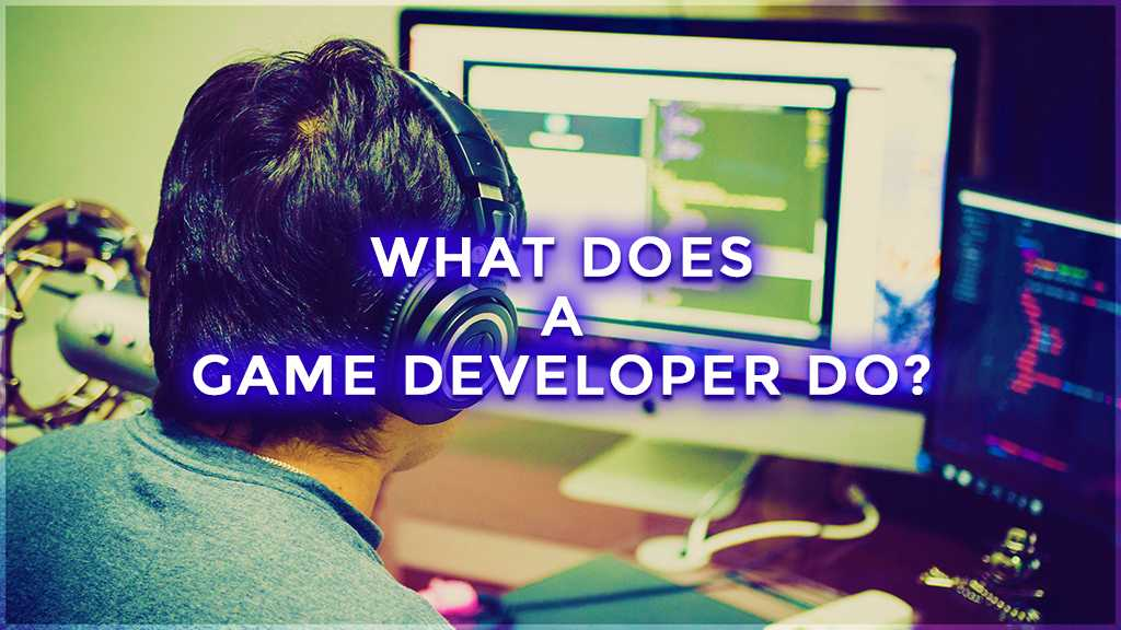 what does a game developer do