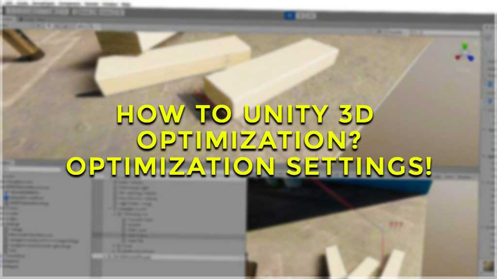 unity 3d optimization