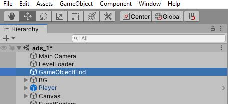game-object-find-unity