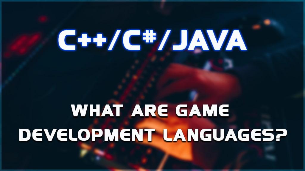 game development languages