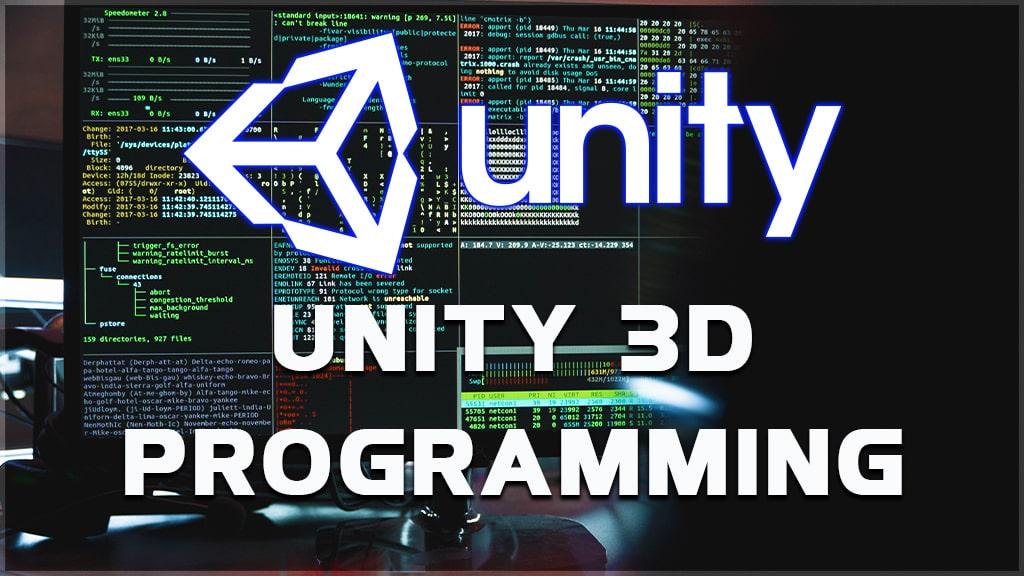 unity 3d programming and unity programming language.