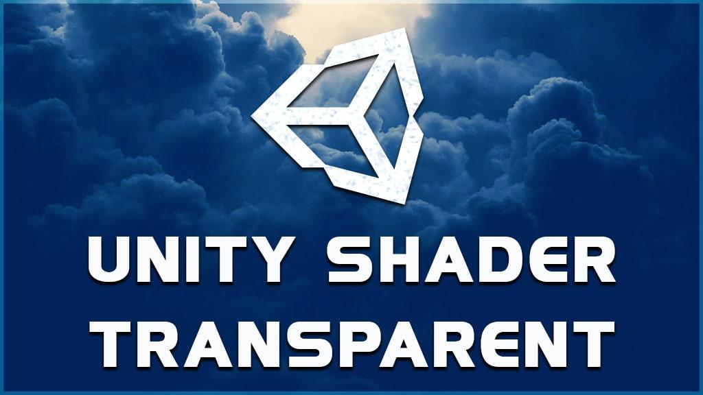 how to make unity shader transparent?