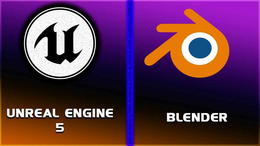 unreal engine 5 vs blender