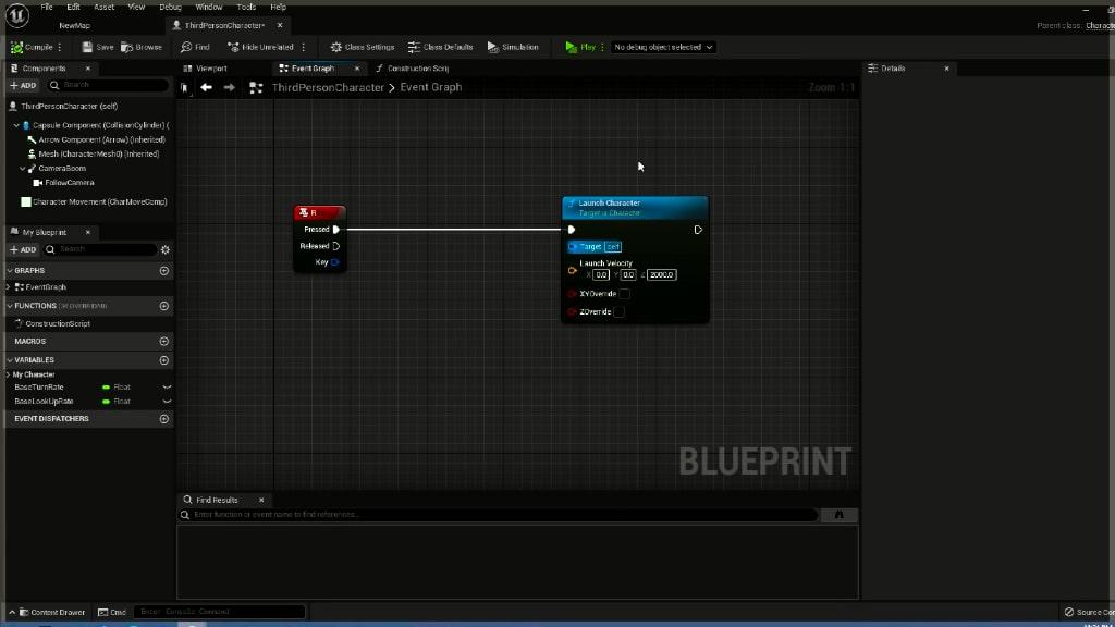 unreal engine 5 blueprint