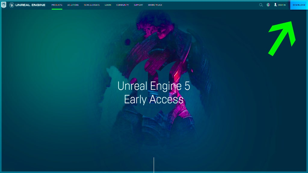 unreal engine 5 early access download