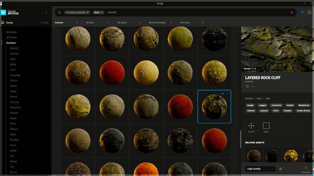unreal engine 5 landscape materials